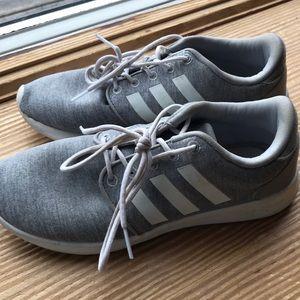 Women's adidas grey sneakers